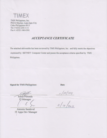 List of valued clients skynet digital acceptance certificates yadclub Images